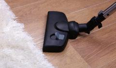 24835125 - vacuuming carpet in house